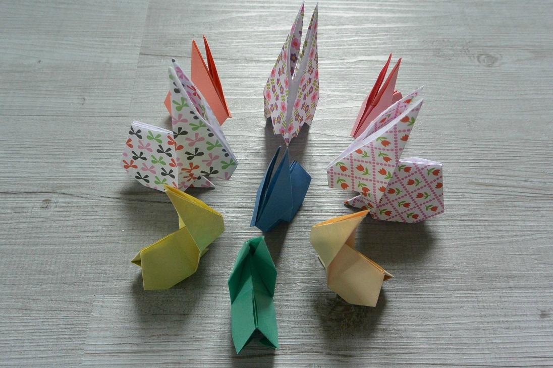 lapins origamis (1)