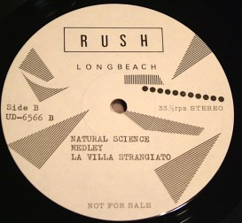 Rush Tom Sawyer lbl D