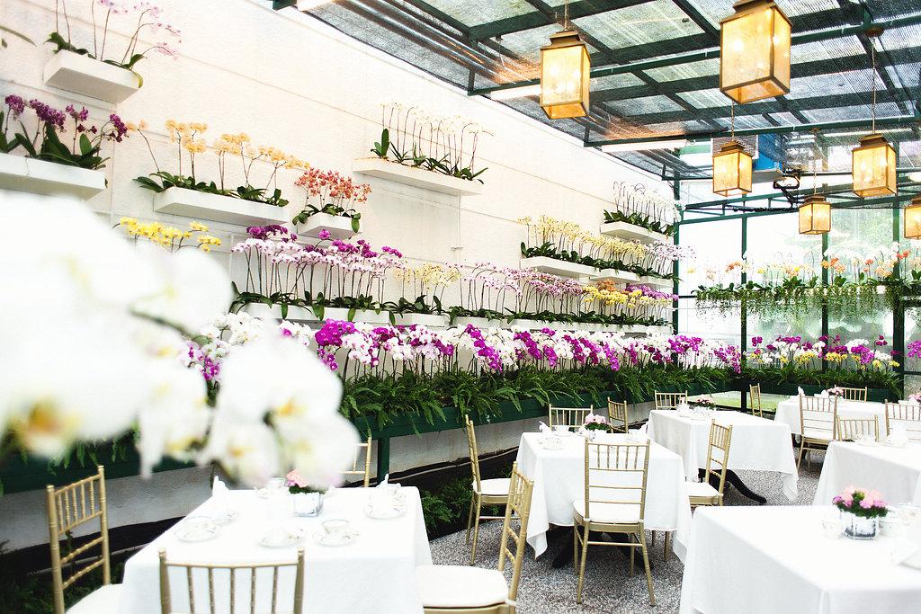 The Majestic Hotel Garden High Tea Setting