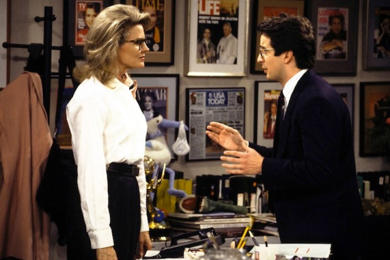 MURPHY BROWN, Candice Bergen, Grant Shaud, 1988-98, (c)Warner Bros. Television/courtesy Everett Collection