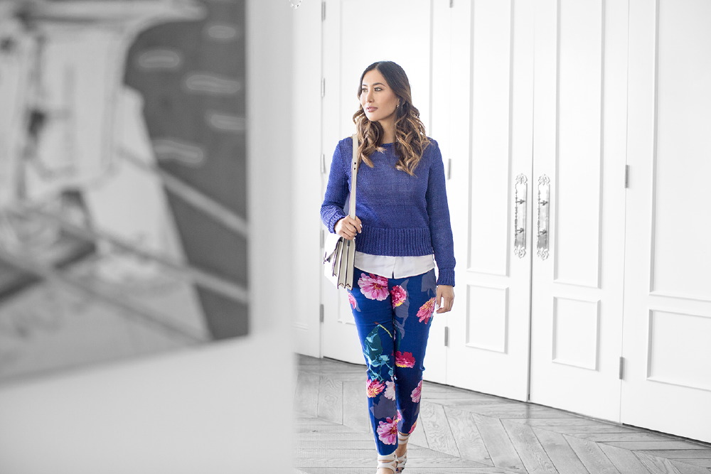 Banana Republic Floral Pants