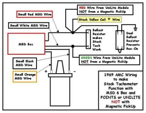 MSD wiring for 77 Hor AMX  The AMC Forum