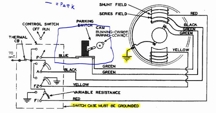 wiring diagram for cj5 wiper motor