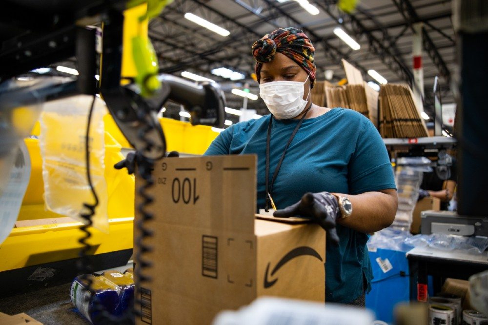 Amazon workers fight for better COVID-19 conditions