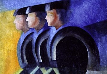 Italian futurists looked to advances in science and military technology.