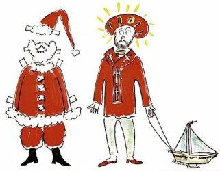 If it looks like a Turk, sounds like a Turk, it's... Santa!
