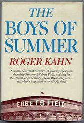 Roger Kahn, baseball, Brooklyn Dodgers