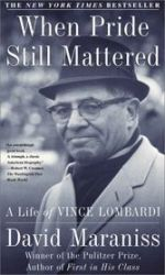 David Maraniss, Vince Lombardi, Green Bay Packers, New York Giants, West Point