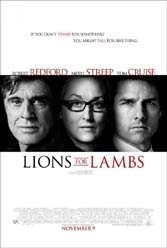 Lions for Lambs is a Redford strikeout.