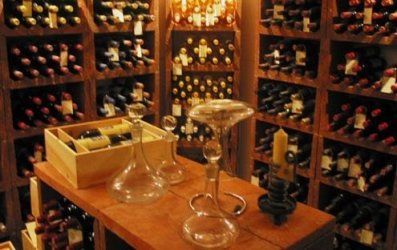 A wine cellar at home can save a bottle's life.