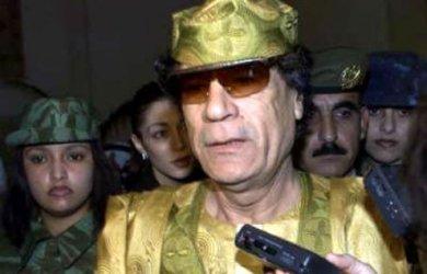 Qaddafi's universe centers on himself.