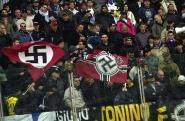 Fans during a recent Lazio-Livorno match.