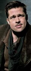First Lieutenant Aldo Raine (Brad Pitt).