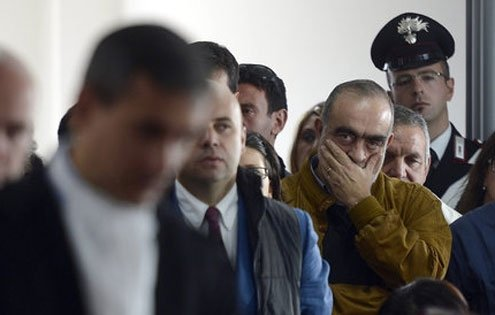 Consternation during the trial of seven earthquake experts in L'Aquila.