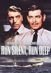 Gable and Lancaster make Run Silent, Run Deep compelling.