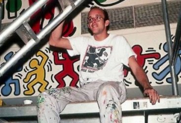 The graffiti died of AIDS, an early high-profile casualty.