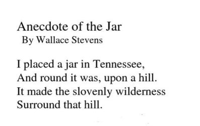 Stevens' music is accomplished blank verse.