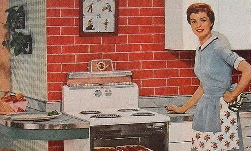 1950s housewife by Christian Montone.