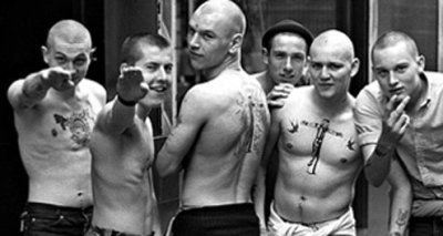 Skinheads in Chelsea, London.