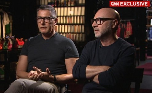 We love gay couples. We love gay adoption. We love everything, said Gabbana