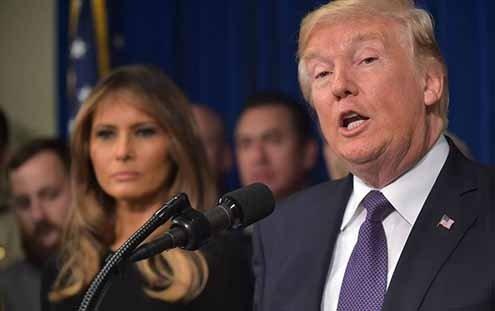 Donald Trump has a divisive effect.