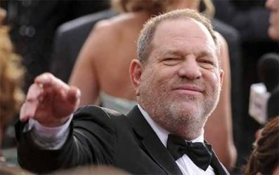 Ager at Harvey Weinstein laps over into dislike of Trump.