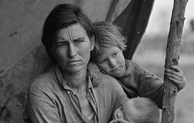 As recently as the 1930s, large swathes of America were abject and filthy poor.
