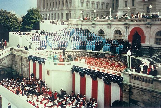 Mormon Tabernacle Choir at Inauguration