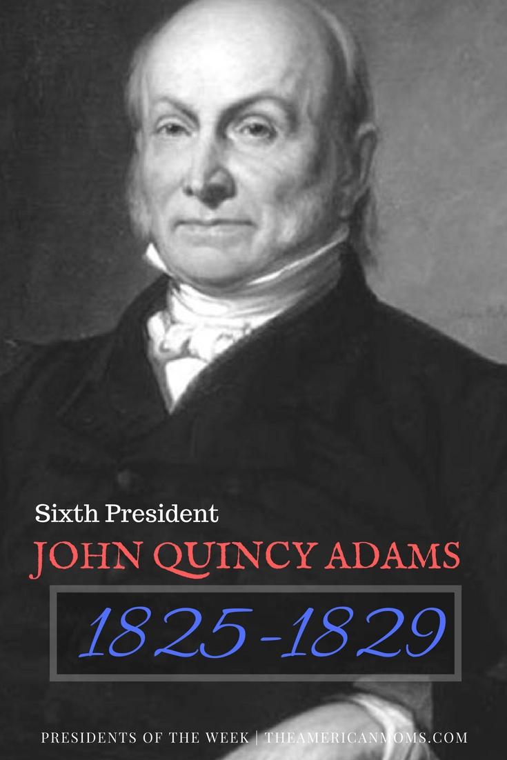 John Quincy Adams bio