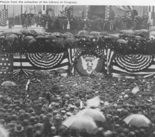 Inauguration of Benjamin Harrison