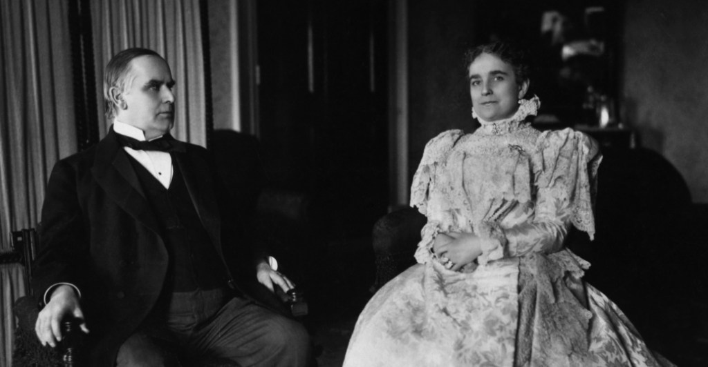 President and Mrs. McKinley