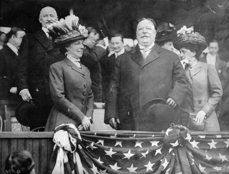 President Taft swearing in