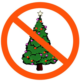 school bans christmas trees the colors red green - Why Are Christmas Colors Red And Green