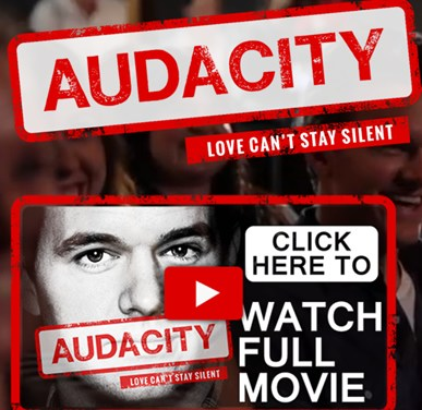 Audacity: Love can't stay silent