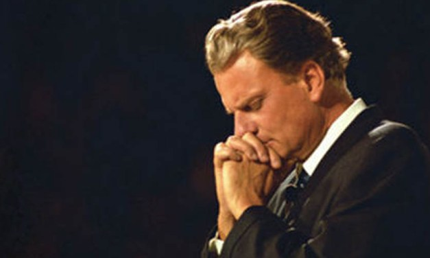 """""""Americans see the storm clouds gathering on the horizon…This is a time for repentance & faith."""" -Billy Graham"""