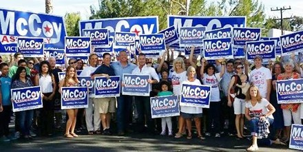 My Pastor IS running for office – Thank you Rob McCoy!
