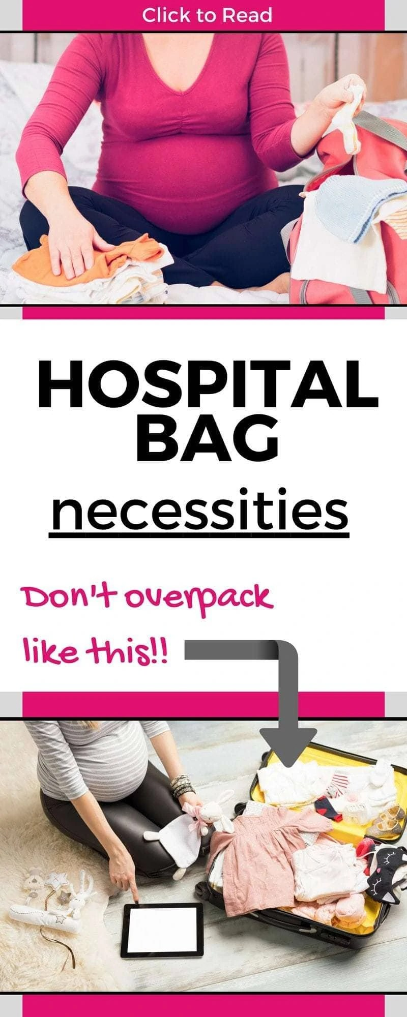 the 20 things you actually need in your hospital bag the
