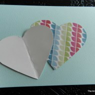 Button Craft: Valentines Card