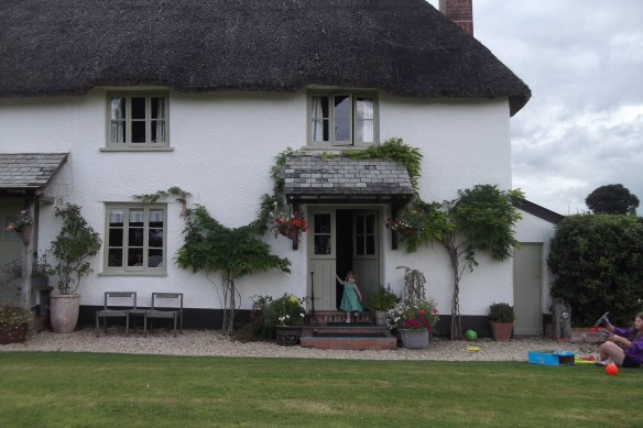 Thatch roofed cottage