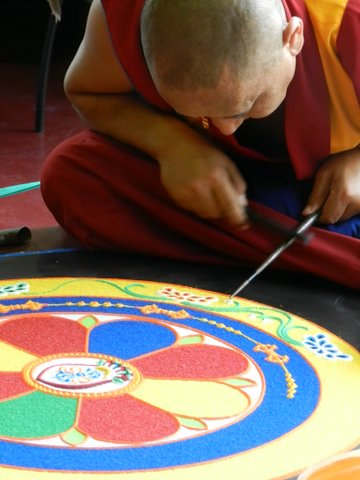 wheee tibetan monks