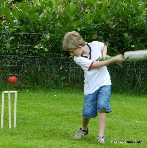 Cricket in the garden sussex