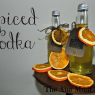 Spiced Orange Vodka : Homemade Christmas Gifts