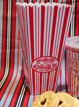 Popcorn Holders, posh totty