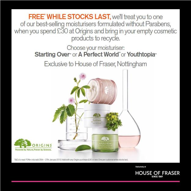 House of Fraser Nottingham