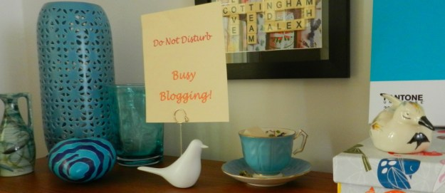 Do Not Disturb, a blogger blogging