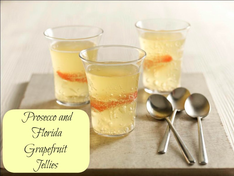 Florida grapefruit Prosecco Jelly