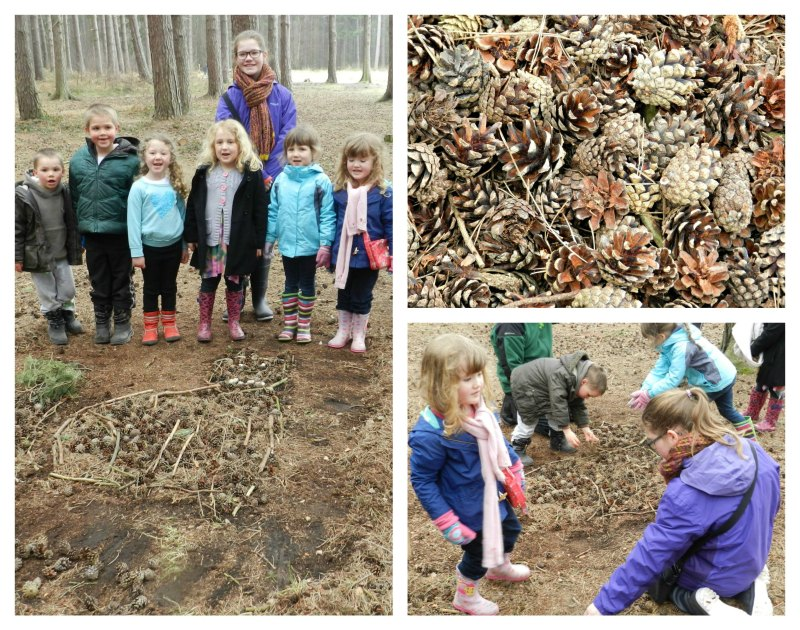 Making Art in the Forest, Sherwood Pines
