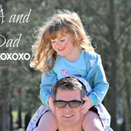 Ana Snapshot: Miss A and Tall Dad