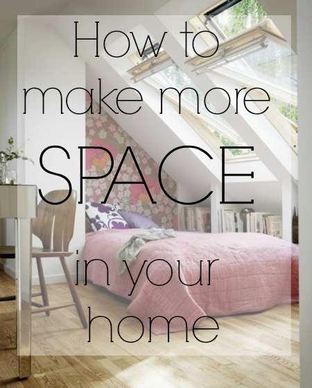 How yo make your home appear more spacious