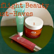 Origins : My Inflight Beauty Must-Haves from Origins